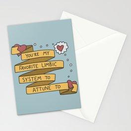 Psychology Valentine: Limbic  Stationery Cards