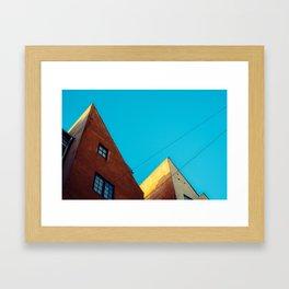 CPH sky Framed Art Print