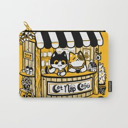Cat Nap Cafe Carry-All Pouch