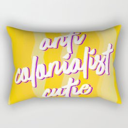 Anti Colonialist Cutie Rectangular Pillow