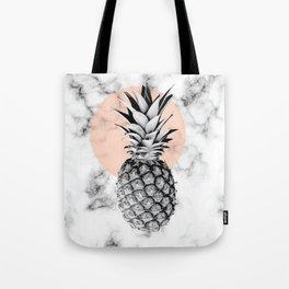Marble Pineapple 053 Tote Bag