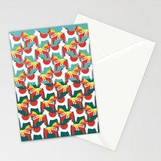 Dalahäst & Japanese horse Stationery Cards