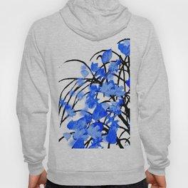Falling Leaves Blue Hoody
