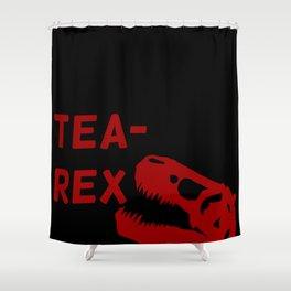 Tea-Rex Shower Curtain