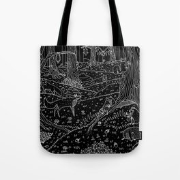 Nocturnal Animals of the Forest Tote Bag