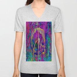 Peace Pour Painting Unisex V-Neck