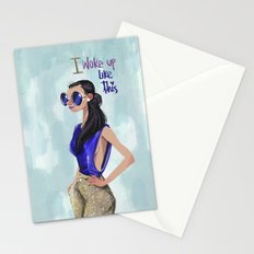 Blue chic  Stationery Cards