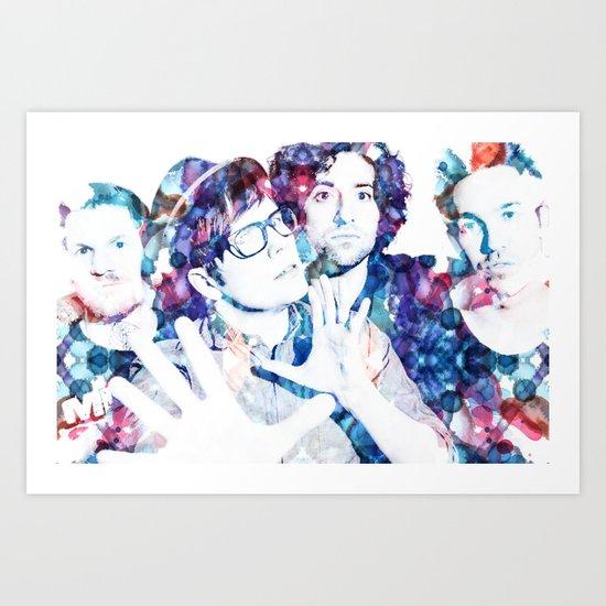 Fall Out Boy Art Print