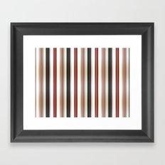 Vertical Lines Framed Art Print