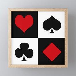 Playing card Framed Mini Art Print