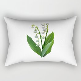 Lily of the Valley Floweret Rectangular Pillow