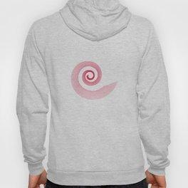 Red black spirale 5 Hoody