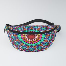 Colorful Life Garden Mandala Fanny Pack