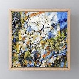 """ Wolf Daisies "" Framed Mini Art Print"