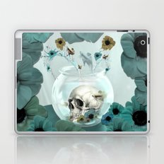 Looking glass skull Laptop & iPad Skin