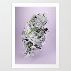Organic Primitive Art Print
