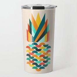 Groovy Pineapple Travel Mug