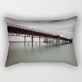 Mumbles pier and lifeboat station Rectangular Pillow