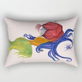 Stars falling Down Rectangular Pillow