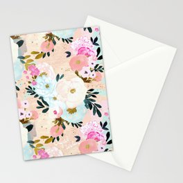 Florence Painterly Floral Stationery Cards