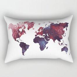 world map art 3 Rectangular Pillow