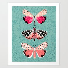 Lepidoptery No. 6 by Andrea Lauren Art Print