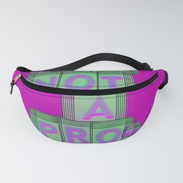 nope pink 0 Fanny Pack