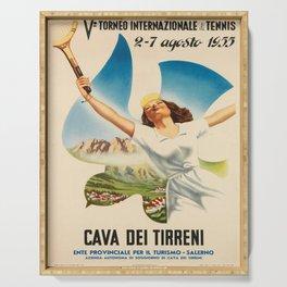 Affiche cava dei tirreni. 1950  Serving Tray