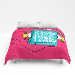 Book I Heard (HE102) Comforters