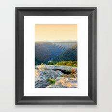 Sunset at Longpoint Framed Art Print