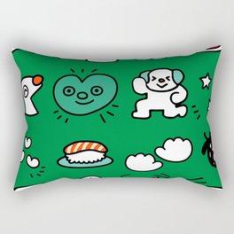 A dog's fun life! Shih Tzu Rectangular Pillow