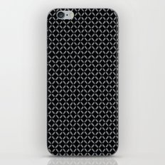 Black criss cross iPhone & iPod Skin