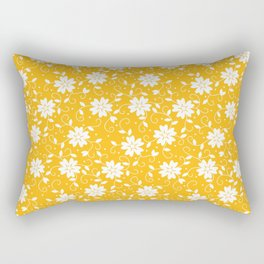 Five Petals Flowers 11 Rectangular Pillow