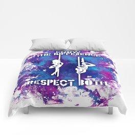 RespectBothPink Comforters