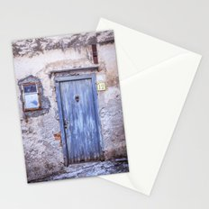 Old Blue Italian Door Stationery Cards
