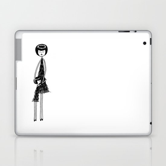 I love my mom (daughter) Laptop & iPad Skin
