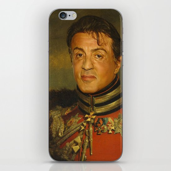 Sylvester Stallone - replaceface iPhone & iPod Skin