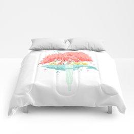 Whale Island Comforters