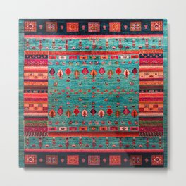 Anthropologie Ortiental Traditional Moroccan Style Artwork Metal Print