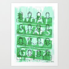 WHAT SWAPS YOU GOT ? Art Print