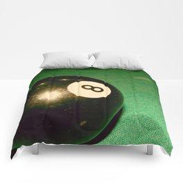 Eight Ball-Green Comforters