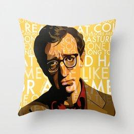 Woody Allen - Annie Hall I Throw Pillow