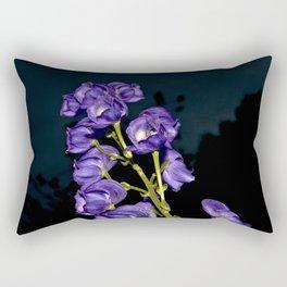 Dark Purple Elegance Rectangular Pillow
