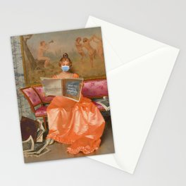 Social Distancing Series III Stationery Cards