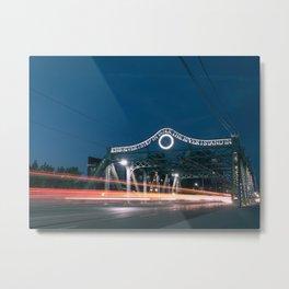 Urban Nights, Urban Lights #3 Metal Print