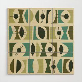 Tromen - Green Wood Wall Art