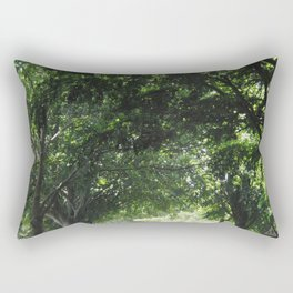 Beautiful Summer Road Rectangular Pillow