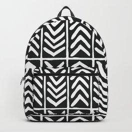Tribal Print B&W- 03 Backpack