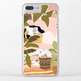 How Many Plants Is Enough Plants? Clear iPhone Case