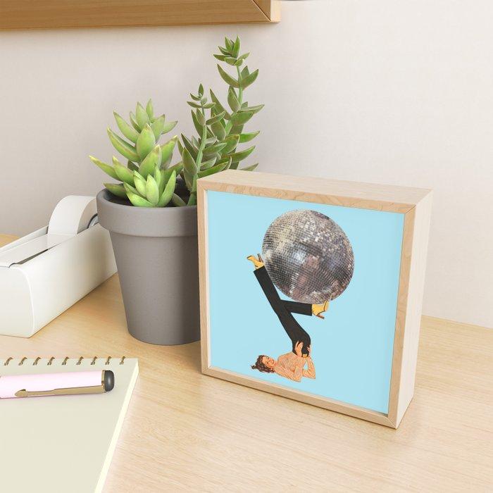 Boogie Shoes Framed Mini Art Print
